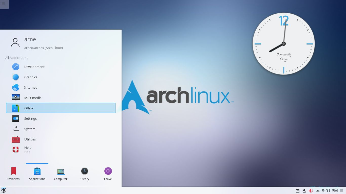arch linux persistent usb